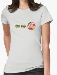 sonic boom - Guile Womens Fitted T-Shirt