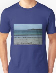 Waves On A Hebridean Shore - Bostadh Beach T-Shirt
