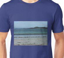 Waves On A Hebridean Shore - Bostadh Beach Unisex T-Shirt