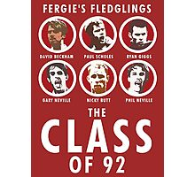 The Class of 92 Photographic Print