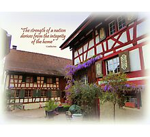 Stammheim House Photographic Print