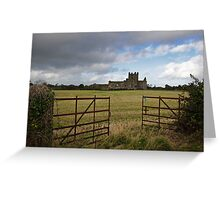 Dunbrody Abbey, County Wexford Greeting Card