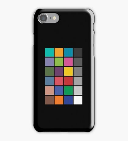 Colour chart iPhone Case/Skin