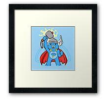 Thor, bear of thunder Framed Print
