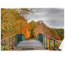 """""""an autumn walk through the wetlands"""" Poster"""