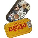 Buttons in Tobacco Tin by Marlene Hielema