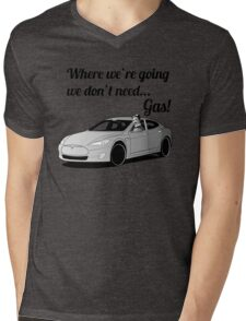 Where we're going... Mens V-Neck T-Shirt