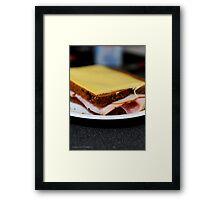 Simply a Sandwich Framed Print