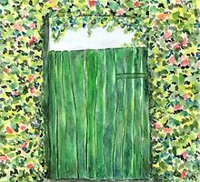 Green Door by Caroline  Lembke
