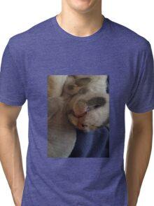 Kitty Teeth Tri-blend T-Shirt