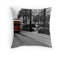New Orleans, USA Throw Pillow