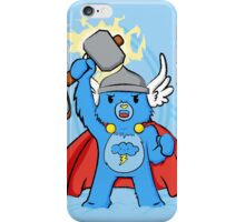 Thor, bear of thunder iPhone Case/Skin
