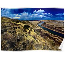 Badlands of Alberta Poster