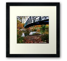 """""""There's a place..."""" Framed Print"""