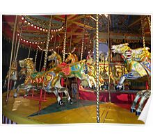 Savages 1896 Gallopers Poster