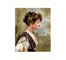 Billie Burke, Washington D.C. 1908 Art Print