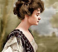 Billie Burke, Washington D.C. 1908 by Zahulie