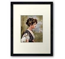 Billie Burke, Washington D.C. 1908 Framed Print