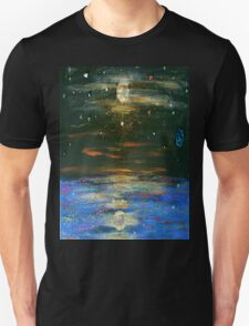 Night Sky at Sea T-Shirt