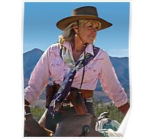 Ranch woman Poster