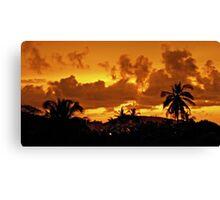 Mexico Sky - Paradise Canvas Print
