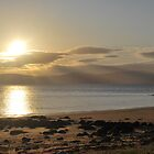 Dougrie beach, Isle of Arran  by clara  caulfield