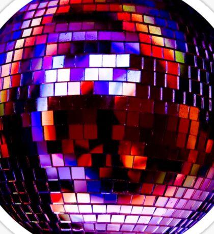 Shiny disco ball Sticker