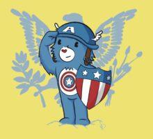 Captain  Americare Baby Tee