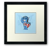Captain  Americare Framed Print