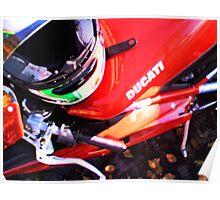 Ducati Morning Poster