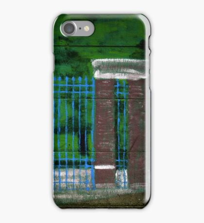 Park Entrance Wall Art iPhone Case/Skin