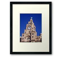 Liver Building Liverpool Framed Print