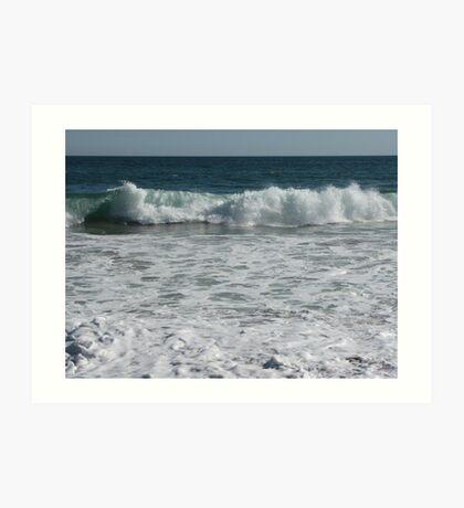 Ocean Waving At You Art Print