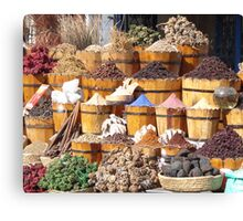 Dried Goods Canvas Print