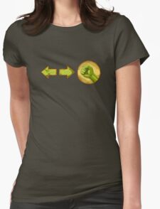 rolling attack - Blanka Womens Fitted T-Shirt