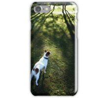 Harry and the shadows iPhone Case/Skin