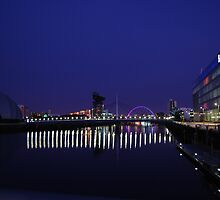 Reflections on the River Clyde .... by clara  caulfield