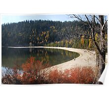 Exploring North Beach, Payette Lake Poster