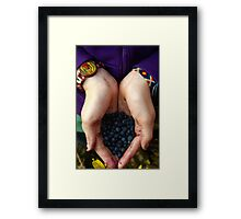 In My Hands Framed Print