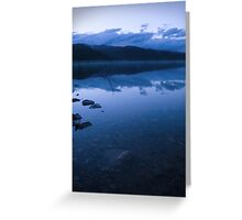 Leadville Blue Water Greeting Card