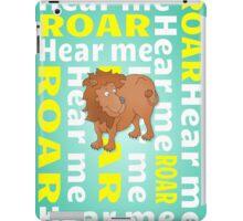 Lion | Hear Me ROAR iPad Case/Skin