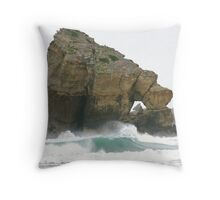 Eye Of The Rock Throw Pillow