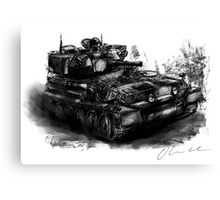 Scorpion Light Tank CVRt Canvas Print