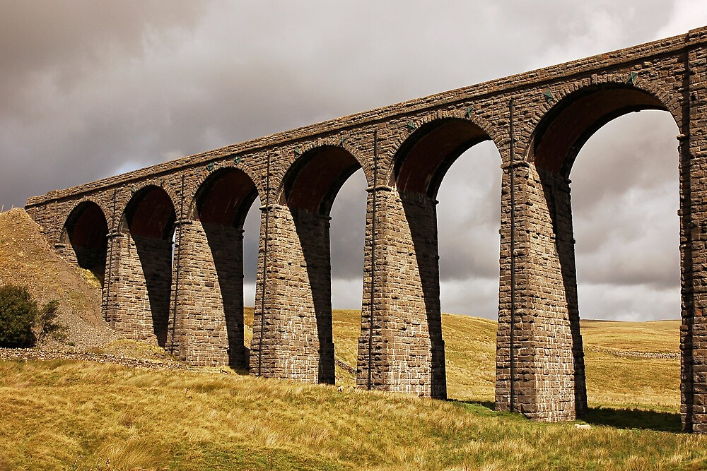 Ribble Viaduct - Yorkshire Dales by James  Monk