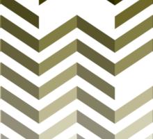 Seamless pattern with zigzags Sticker