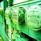 Electric Meter  by iwasoutwalking