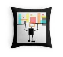 BLOCK art modern ABSTRACT Throw Pillow