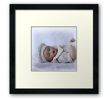 Delicate and Sweet Framed Print