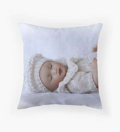 Delicate and Sweet Throw Pillow