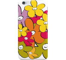 the flower and the smiling power2 iPhone Case/Skin